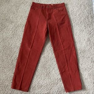 Vintage Levis 550 Relaxed Fit Tapered Leg Jeans Size 36x32 Mens Made in USA.